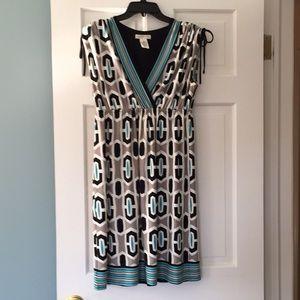 London Times sleeveless dress